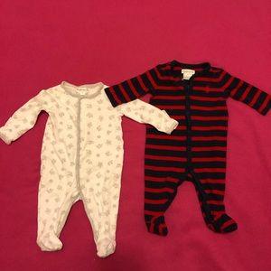 Ralph Lauren Sleepers Size 3 Months